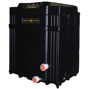 Aquacal heat pump for swimming pools