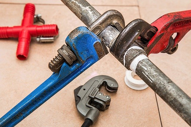 Wrenches for plumbing repair