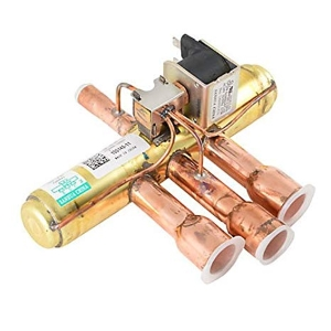 Reversing valve for heat pumps